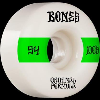 Bones 100's 54mm 100a V4 Wide