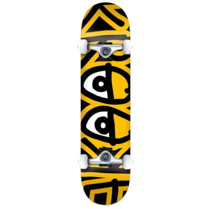 Krooked Bigger Eyes Mini Complete Skateboard - 7.3""