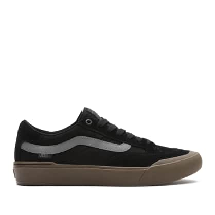 Vans Berle Pro Skate Shoes - Black / Dark Gum