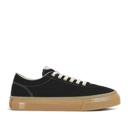 Stepney Workers Club Dellow Mens Canvas Shoes - Black / Gum