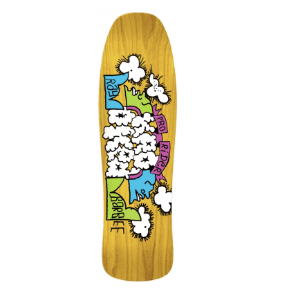 """Krooked Skateboards Ray Barbee Clouds Yellow Deck 9.5"""""""