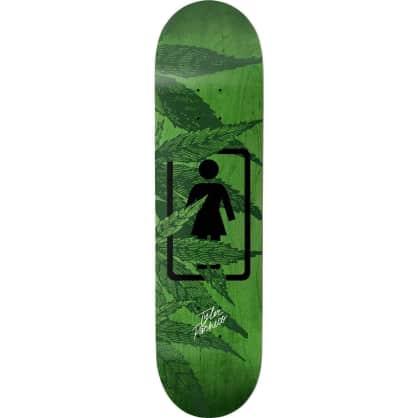 "Girl Smoke Session Tyler Pacheco Skateboard Deck - 8"""