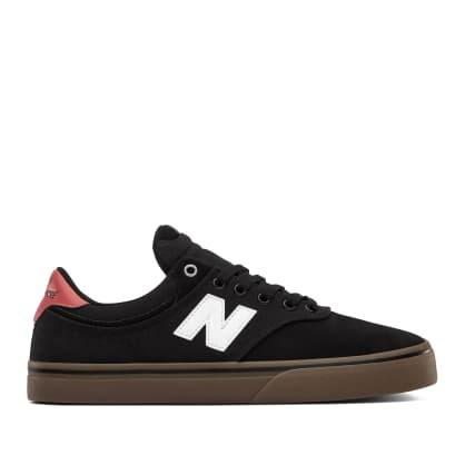 New Balance Numeric 255 Shoes - Black / White