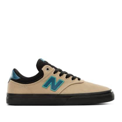New Balance Numeric 255 Skate Shoe - Tan / Blue