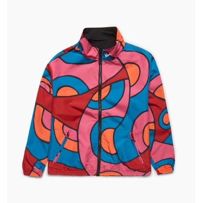 by Parra - serpent pattern track top