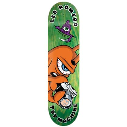 Toy Machine Leo Romero Fountain Deck 8.38""