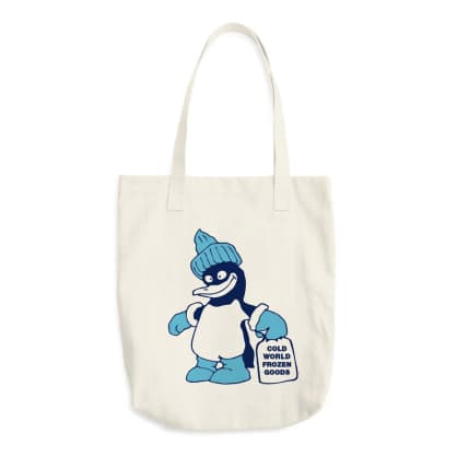 Cold World Frozen Goods - Ice World 12oz Tote Bag