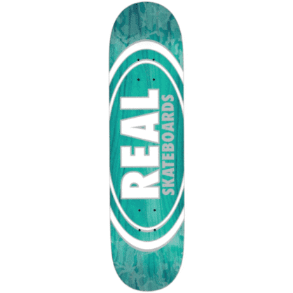 Real Skateboards Deck Oval Patterns Team Series 8.75""