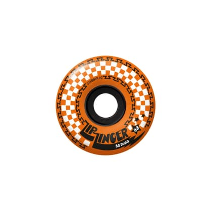 Krooked ZIP ZINGER wheels, Orange, 58mm, 80HD