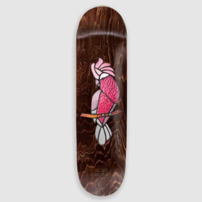 Pass~Port Palmer Stained Glass Galah Deck - 7.875""