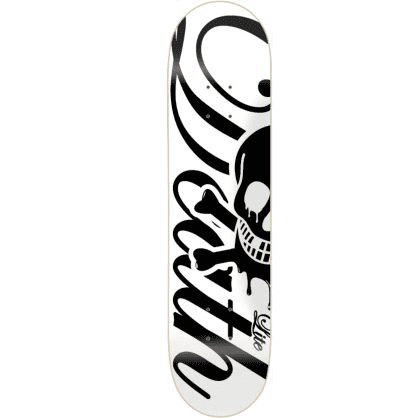 Death Skateboards Script Lite Deck | White | 8.00""