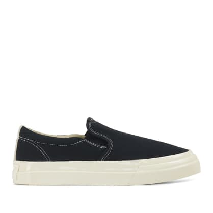 Stepney Workers Club Lister Mens Canvas Shoes - Black