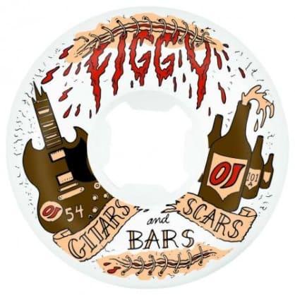 OJ Wheels Figgy Guitars Scars & Bars Original 54mm 101a