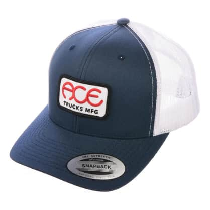 Ace Trucks Rings 5 Panel Hat Navy/White