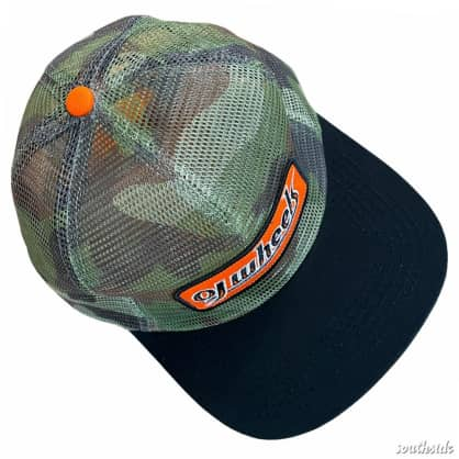 OJ Wheels Hat Two Tone Patch Trucker Camo