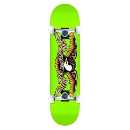 "Antihero Skateboards - Anti Hero Classic Eagle Complete Skateboard Green | 8"""