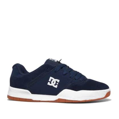 DC Shoes Central Skate Shoes - Navy / Gum