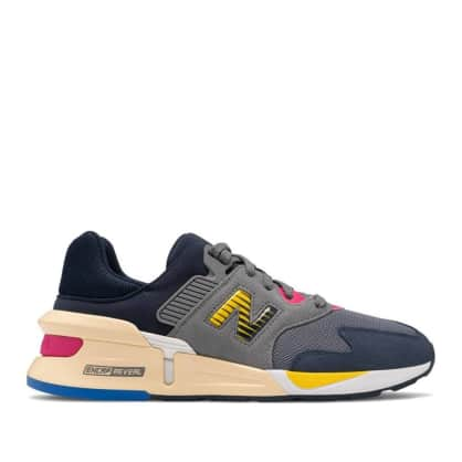 New Balance 997S Shoes - Gunmetal / Natural Indigo