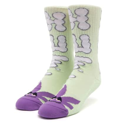 HUF Huf n Puff Buddy Socks Mint