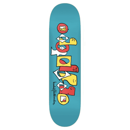 Krooked Skateboards Deck Pals Team Series Blue 8.25""