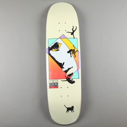 "Welcome 'Miller Faces on Catblood 2.0' 8.75"" Deck (Bone)"