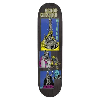 """BLOOD WIZARD GIVEN EVIL DECK 8.5"""""""
