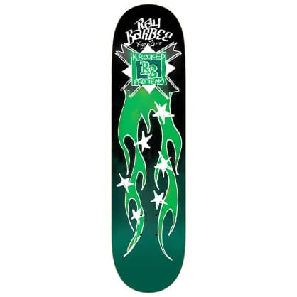 Krooked Ray Barbee Flames Deck 8.38""