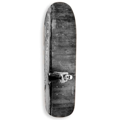 "Polar Skate Co Klez Hong Kong Skateboard Deck - 9.25"" 1991 Special Shape"