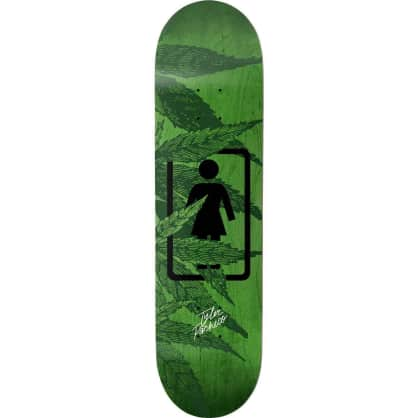 "Girl Smoke Session Tyler Pacheco Skateboard Deck - 7.75"""