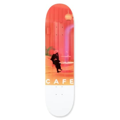 Skate Cafe Unexpected Beauty (Pink) Deck - 8.25""