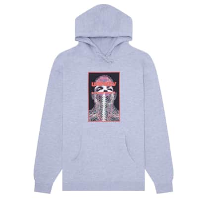 Hockey Nerves Hoodie - Heather Grey