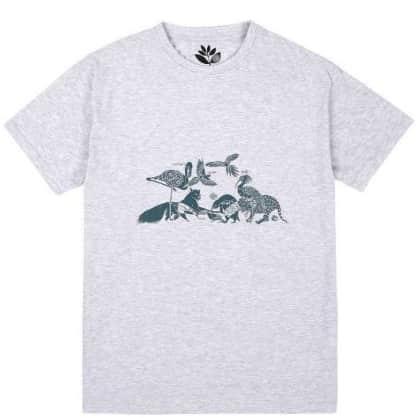Magenta Skateboards Gathering T-Shirt - Ash Grey