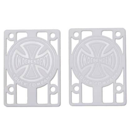 "Independent Genuine Parts Risers 1/8"" (White) Set(2)"