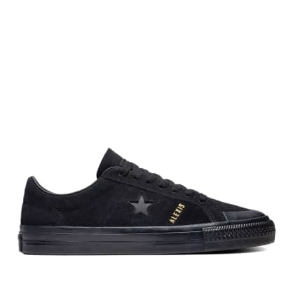 Converse CONS One Star Pro AS Low Top Shoes - Black / Black / Black