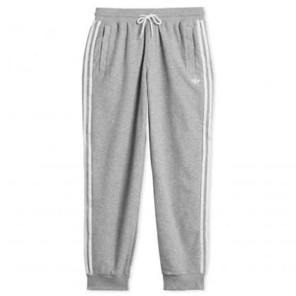 Adidas - Bouclé SST Tracksuit Bottoms - Medium Grey Heather / White