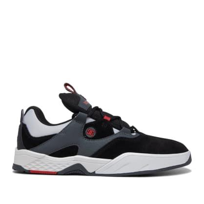 DC Kalis Skate Shoes - Black / Grey / Red