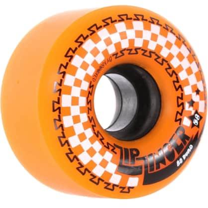Krooked Zip Zinger 80D Wheels- Orange - 58mm