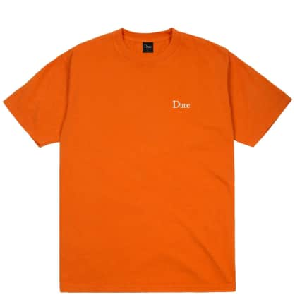Dime Classic Small Logo T-Shirt - Burnt Orange