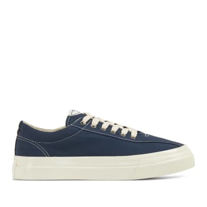Stepney Workers Club Dellow Mens Canvas Shoes - Petrol