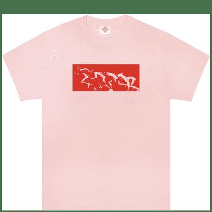 The National Skateboard Co Sprinter T-Shirt - Pink