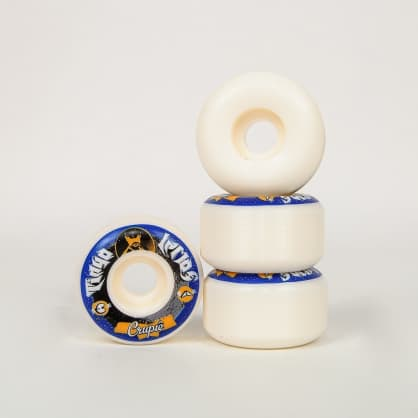Crupie Wheels - 52mm (101a) Wide Tiago Lemos x Killah Priest: TK Skateboard Wheels