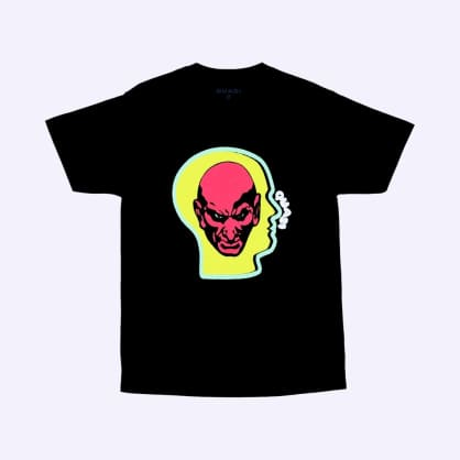 Quasi Heads T-Shirt - Black
