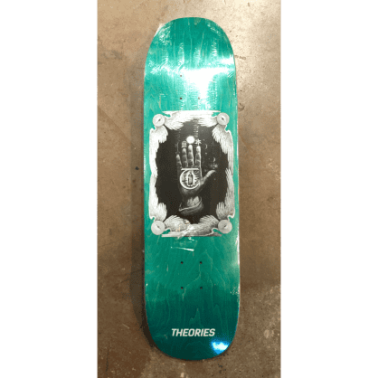 Theories Hand Of Theories Skateboard Deck UFO Shape