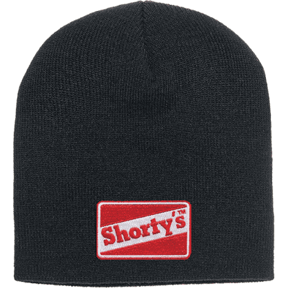 Shortys OG Logo Beanie- (Black/Red)