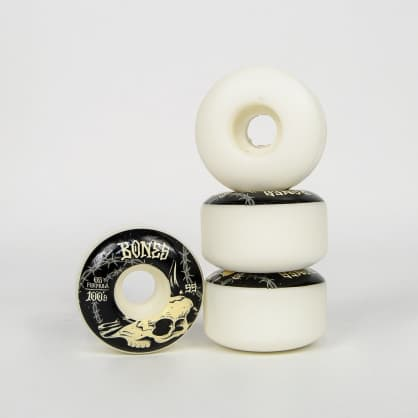Bones - 55mm 100's V4 Wide Desert Skull Skateboard Wheels