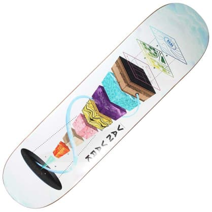 "Real Van Vark Topography deck (8.25"")"