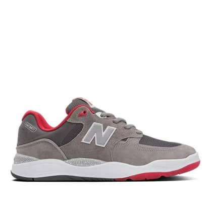 New Balance Numeric Tiago 1010 Skate Shoes - Grey / Red
