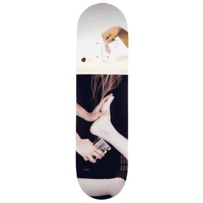 "Isle Skateboards - 8.5"" Mike Arnold Artist Series Jenna Westra Deck"