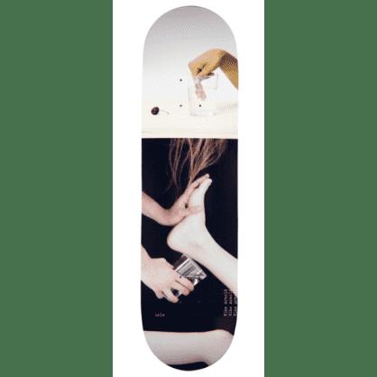 "Isle Skateboards - 8.5"" Mike Arnold Artist Series Jenna Westra Deck"