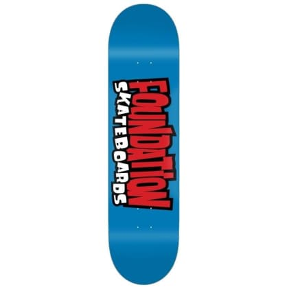 Foundation Deck From The 90s 8.25""